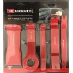 Facom CR.D5 5 Piece Plastic Trim and Upholstery Removal Tool Kit