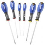 Expert by Facom E160902 6 Piece Screwdriver Set - Flared Slotted/Phillips