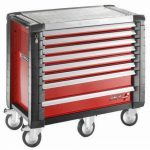 Facom JET.8M5 JET+ 8 Drawer Roller Cabinet - Red
