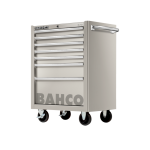 Bahco 1470K7SS S70 Classic 7 Drawer Stainless Steel Mobile Roller Cabinet