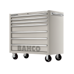 "Bahco 1475KXL7SS S75 Classic 7 Drawer 40"" Stainless Steel Mobile Roller Cabinet"