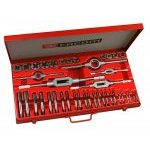 Facom 221.227SJ2 41 Piece Tap and Die Set M3 to M18 ( inc .Cobalt Steel Taps)