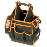 Bahco 4750FB3-12 Electricians/Plumbers Tool Tote Storage Bag Holder 12""