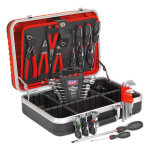Sealey Tools AP616COMBO Heavy-Duty Professional HDPE Tool Case with 32 pce Tool Kit