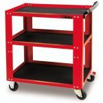 Beta C51 3 Level Mobile Workshop Tool Trolley Red