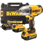 "Dewalt DCF899P2 XR 1/2"" Drive Brushless High Torque Impact Wrench 18V 5.0Ah Li-Ion"