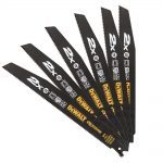 Dewalt DT2308L X2 EXTREME General Purpose Reciprocating Saw Blades 10 TPI (x5)
