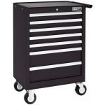 Britool E010232B 7 Drawer Roller Cabinet Tool Box - Roll Cab - Black