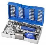 "Expert by Facom E030729 48 Pce 1/4"" Drive Metric Compact Socket and Bit Set - Nano"
