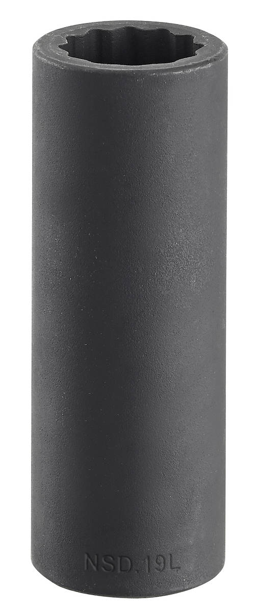 Facom NSD.23L 1//2″ Drive Deep Bi-Hexagon 12-Point Impact Socket 23mm