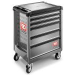 Facom ROLL.6GM3 6 Drawer Mobile Roller Cabinet Grey
