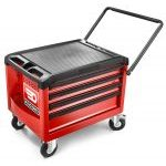 Facom ROLL.CR4M3 4 Drawer Mobile Roller Tool Box Red