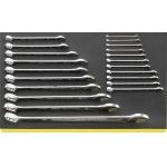 Stahlwille TCS 13/21, 6-34mm 21 Pce. Combination Spanner Set In Foam Module