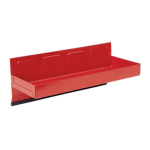 Sealey APTT310 Magnetic Tool Box Storage Tray / Side Shelf - 310 x 115mm