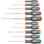 Facom ATW.J10 10 Piece ProTwist Screwdriver Set - Slotted, Pozi & Phillips