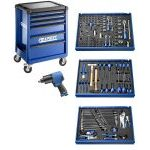 Expert by Facom E220360 208 Pce Tool Kit in Foam & Roller Cabinet