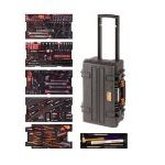 Bahco 4750RCHDW01FF1 240 Piece Aviation Metric & Imperial Tool Kit In Heavy Duty Rigid Case