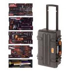 Bahco 4750RCHDW01FF2 159 Piece Aviation Imperial Tool Kit In Heavy Duty Rigid Case