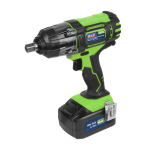 "Sealey CP400LIHV 18volt Cordless 1/2"" Impact Wrench Gun 3Ah Li-ion Battery + Charger"