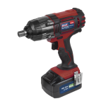 "Sealey CP400LI 18volt Cordless 1/2"" Impact Wrench Gun 3Ah Li-ion Battery + Charger"