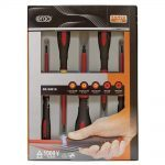 Bahco BE-9881S ERGO 5 Piece 1000V VDE Insulated Slotted & Phillips Screwdriver Set