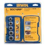 Irwin 10504634 Bolt-Grip Fastener Remover Expansion Set for Damaged/Rounded Nuts