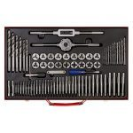 Sealey AK3076 76 Piece Tap & Die Set - Metric Fine & Coarse Metal Case
