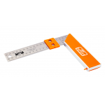 Bahco 9048-400 Carpenters Square With Stainless Steel Blade & Sliding Marker 400mm