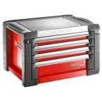 Facom JET.C4M3 JET+ 4 Drawer Top Chest / Tool Box (Red)