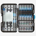 Gedore 666-042 42 Piece Impact Rated Torsion Screwdriver, Socket Adaptor & Nut Set