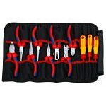 Knipex 00 19 41 11 Piece Telecom Tool Kit In Tool Roll