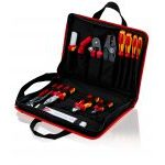 Knipex 00 21 11 'Compact' Electric 14 Piece Service Technician Tool Kit